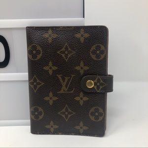 Louis Vuitton monogram agenda small PM cover